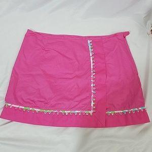 Lilly Pulitzer Pink Skort 14